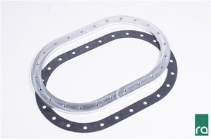 Fuel Cell Weld Flange, 24-Bolt Aluminum