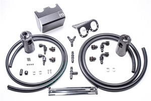 Dual Catch Can Kit, Subaru 02-14 & 2015+ STi