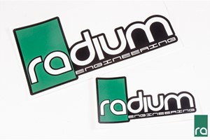 Radium Engineering Stickers