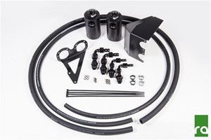 Dual Catch Can Kit, 02-14 Subaru