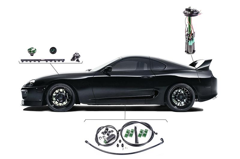 Fuel Delivery System, MKIV Supra