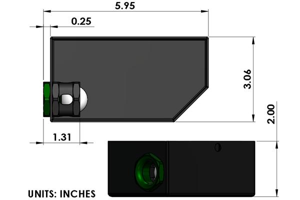 Radium In Tank Fuel Collector Box Triple Valve 20-0150
